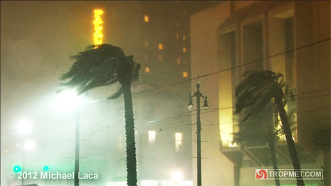 Hurricane Isaac - New Orleans, Louisiana