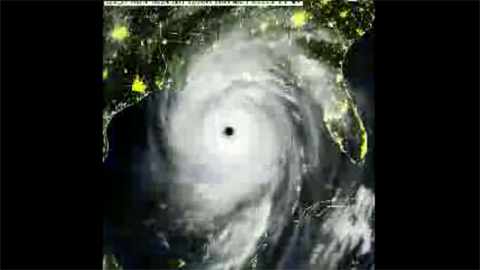 Hurricane Katrina - Satellite Loop