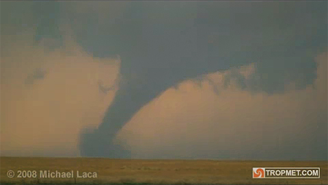 Tornado - Lane County, Kansas