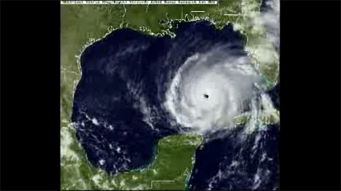 Hurricane Rita - Satellite Loop