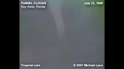 Waterspout / Funnels - Key West, Florida