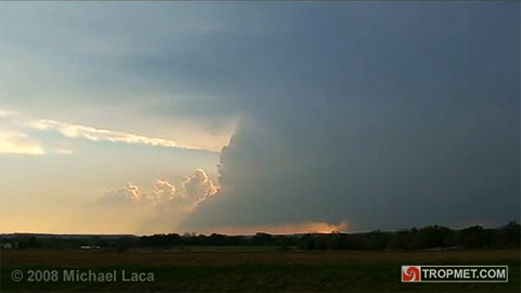 Tornadic Supercell - Wilson County, Kansas